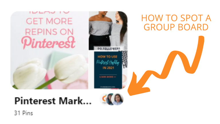 how to spot a group board